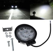27W 12V 24V Spot Led Work Light Lamp Bar Boat Tractor Truck Off-road SUV F7