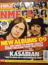 NME 17/1/09 Kasabian cover, Albums of 2009 preview