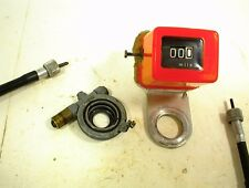 CAN-AM ODOMETER ASSEMBLY 250 ASE 1985 CABLE DRIVE GEAR VEGLIA ENDURO DIRT BIKE