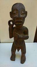 """ancienne Statue """"Téké"""" Congo Zaire. AFRIKANISCHE KUNST ART TRIBAL PREMIER"""