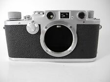 LEICA IIIF RED DIAL VERY CLEAN FILM TESTED NICE  CAMERA GREAT RANGEFINDER