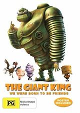 The Giant King (DVD) Poster Included! New, Genuine & Sealed  - Free Postage D43