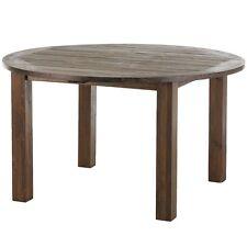 Gartentisch Belmont Gealtert Ø 140 Esstisch Old Teak Tisch Teaktisch Holztisch
