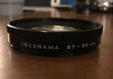 Iscorama Close Up Lens Achromatic 72mm 1.5x Low Power Diopter 67-50cm Anamorphic