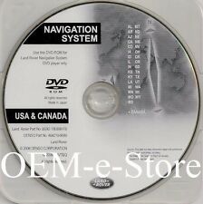 2007 to 2010 Land Rover LR2 SE HSE Navigation DVD WEST Coast U.S Canada Map