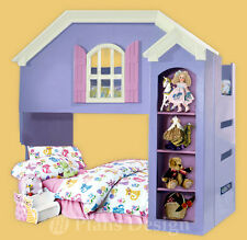 Dollhouse Bunk / Loft Twin Bed Woodworking Plans (Instructions), Do It Yourself
