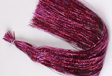"Flashabou Holographic FUCHSIA HAZE 800 strands, 1/69"" wide by 10"" long"