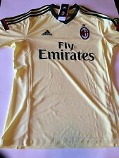 New Authentic Adidas AC Milan Medium short sleeve Third Soccer Jersey Serie A