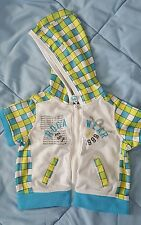 Rocawear Baby Light Weight Short Sleeve Jacket With Hood Size 6-9Mths