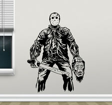 Jason Voorhees Wall Decal Horror Movies Vinyl Sticker Film Art Decor Mural 92zzz