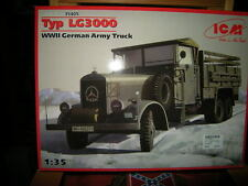 1:35 ICM Mercedes-Benz Typ LG3000 WWII German Army Truck OVP