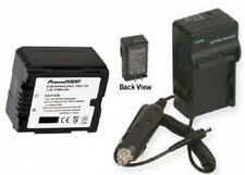 Battery + Charger for Panasonic HDC-SD5PP HDC-TM10