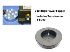High Power 9 Jet Pond Ultrasonic Fogger Mister Great For Ponds & Water Features