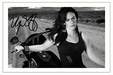 MAGGIE SIFF SONS OF ANARCHY SIGNED PHOTO PRINT AUTOGRAPH TARA SOA