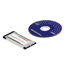 Express Card Expresscard to USB 3.0 2 Port Adapter OV