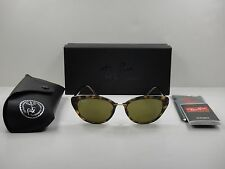 RAY-BAN TECH LIGHT-RAY WOMEN SUNGLASSES RB4250 710/73 TORTOISE/BROWN LENS 52MM