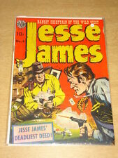 JESSE JAMES #4 VG (4.0) AVON COMICS JULY 1951