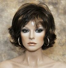 Everyday wig Multiple layers Classy N chic Brown Mix flip ends lo 4-27