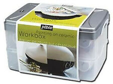 Pebeo Ceramic Paint Atelier Workbox Set - China Ceramic Painting Kit