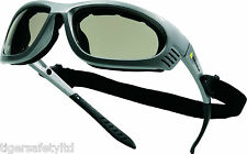 Delta Plus Venitex Blow Smoke Protective Safety Eyewear Glasses Specs UV400 PPE
