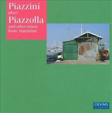 Piazzini Plays Piazzolla & Other Music From Argent, New Music