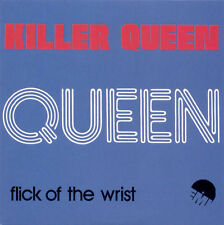 QUEEN: KILLER QUEEN c/w FLICK OF THE WRIST (REMASTERED CD)-FREE SHIPPING-