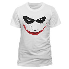 Batman - The Dark Knight - Joker Smile Outline T-Shirt M CID