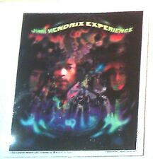 "JIMI HENDRIX 4""x5.5"" STICKER Decal deadstock new old stock"