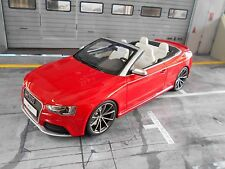 AUDI RS5 RS 5 A5 Cabriolet rot red V8 4.2 2015 GT Spirit Resin NEU NEW 1:18
