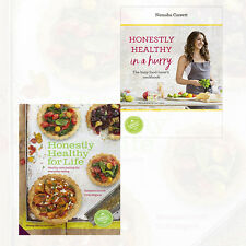 Healthy Cookbook Collection 2 Books By Natasha Corrett Set Honestly Healthy NEW