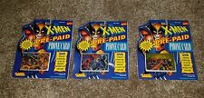 X-Men Pre-Paid Phone Card SEALED x3 Vintage 1994 Marvel Comics Free Shipping