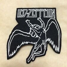 LED ZEPPELIN ENGLISH ROCK BAND EMBROIDERY IRON ON PATCH BADGE
