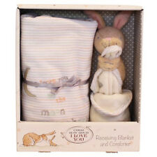 Guess How Much I Love You Blanket Comforter Nutbrown Hare Security Baby Gift Set