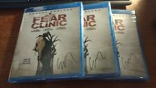 Fear Clinic blu-ray robert englund autographed by corey taylor slipknot best buy