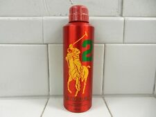 POLO RED #2 BODY SPRAY BY RALPH LAUREN (MEN) 6.7 OZ *NEW AND SEALED CAN*