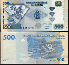 Congo, D.R. 500 Francs. 2002 P96 Mint Unc
