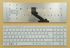 for Gateway NV52L NV55S NV56R NV57H NV75S NV76R Keyboard Spanish Teclado White