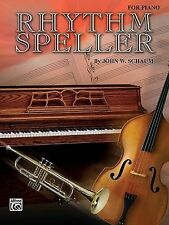 Rhythm Speller: For Piano by John Schaum (Paperback / softback, 1985)