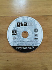 Grand Theft Auto III (3) GTA for PS2 *Disc Only*