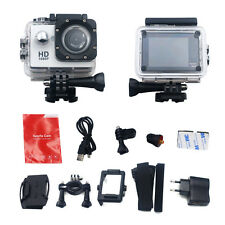 "Full HD 1080P Action Sports Helmet Camera Waterproof  Car DV Video 2"" Camcorder"