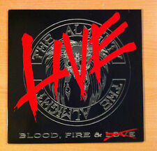 "THE ALMIGHTY "" Blood, Fire & Live"" - Vinyl Lp 12"" -Polydor ‎ 847 107 1 - 1990 UK"