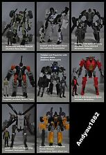 SALES!! Transformers DOTM Basic Human Alliance (Set of 8)