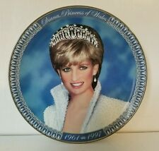 DIANA PRINCESS OF WALES Fine Porcelain Plate LIMITED EDITION FRANKLIN MINT#HX267