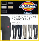 DICKIES GIRLS HH164 SKINNY FIT 5-POCKET Stretch Twill Low rise ALL COLOR PLUS