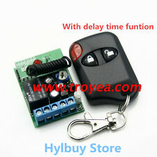 DC12v Relay Wireless Remote Control RF RC Switch On/off Delay Time Timer 30sec