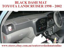 DASH MAT, DASHMAT,DASHBOARD COVER FIT TOYOTA LANDCRUISER 100ser 1998-2002 BLACK