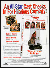 BLAME IT ON THE BELLBOY__Original 1992 Trade AD promo__DUDLEY MOORE_PATSY KENSIT
