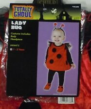 Ladybug Halloween Costume Totally Ghoul Puffy Jumpsuit 1 - 2 Years 2T