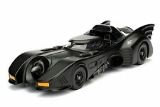 JADA 1:24 DISPLAY METALS 1989 BATMOBILE DIECAST CAR 98263