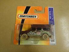 BOXED MODEL CAR MATCHBOX N° 70 LAND ROVER DEFENDER 110